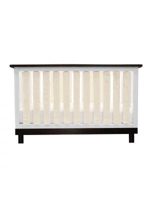 Luxurious Cream Minky Crib Liners