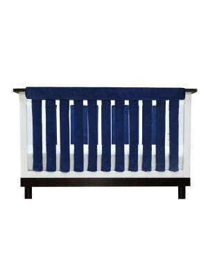 Luxurious Navy Minky Teething Guards