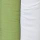 Sage & White Cotton Sample
