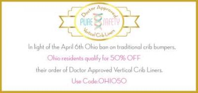 Ohio Bans Traditional Crib Bumpers