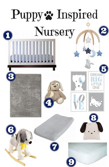 Puppy Inspired Nursey